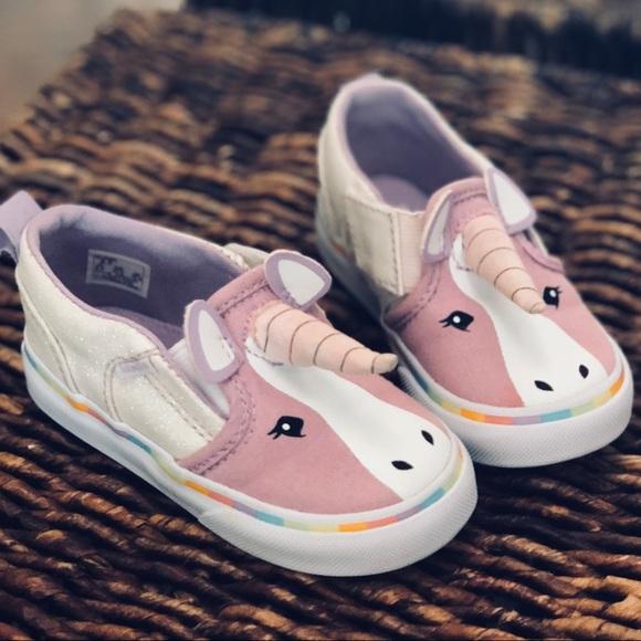 Toddler Vans Asher Unicorn Slip Ons 742fd8308